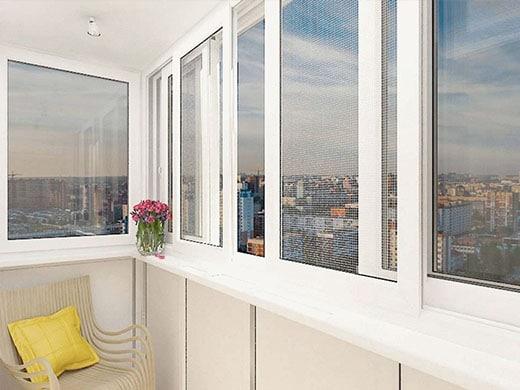 балконные рамы поворотно-откидные